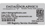 Data Graphics Inc Metal Photo UID