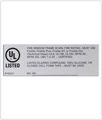 UL Approved Labels from a Certified Vendor