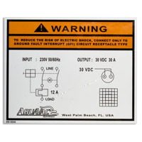 custom printing on mylar - stickers and warning labels