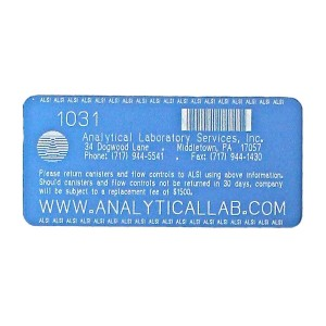 Laser Etched, Custom Barcode Asset Tags