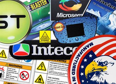 long lasting durable industrial labels