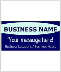 Corporate & Business Custom Vinyl Sign Maker