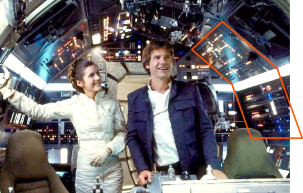 Little Known Fact: All those labels and nameplates on that instrument panel were manufactured by Data Graphics a long time ago, in a galaxy far, far away. May the 4th Be With You!