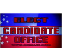 Digitally Printed Election Signs
