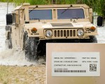 UIDs Trusted by the DoD - IUID Tag on Military Vehicles