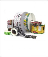 Asset Inventory Labels - Hot Stamped and Flexo Roll Labels