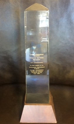 Collins Commercial Avionics Award