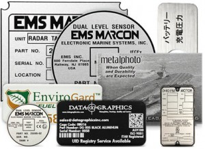 Choose from a Wide Variety of Custom Aluminum Tags for Equipment