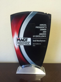 MACF Small Manufacturer of the Year Award