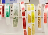 Flexo Inventory Label Printing- Inverntory Labels on a Convenient Roll Label
