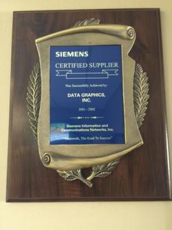 Siemens Certified Supplier