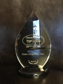 Top 100 Award 2013