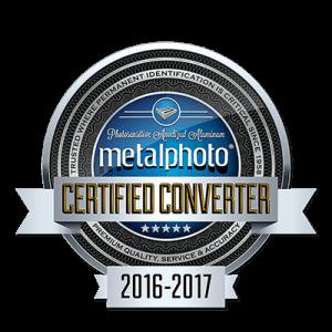 Metalphoto Certified Inventory Label Printer