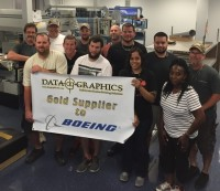 Fabrication Celebrates Boeing Gold Award