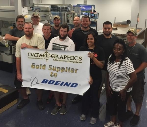 Fabrication Celebrates Boeing Gold Award