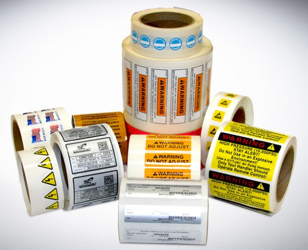 Huge Variety of Custom Printed Roll Labels - The Highest Quality Roll Label Printing