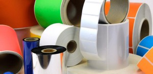 Polyimide custom printed roll labels Substrate