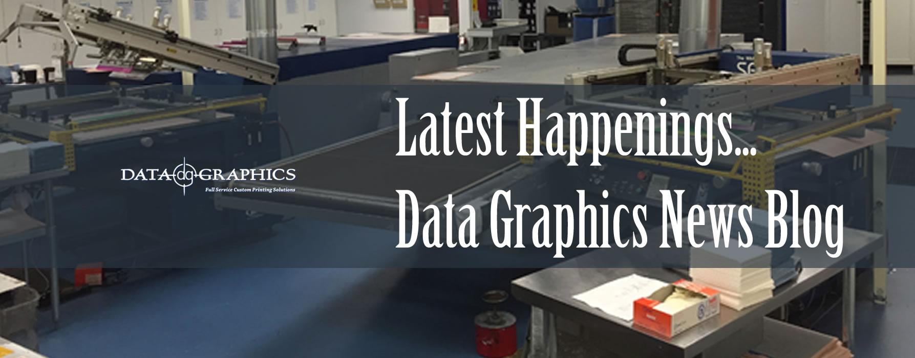 Data Graphics Latest Happenings - Blog