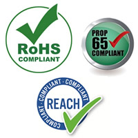 RoHS, Reach and Prop 65 Compliance